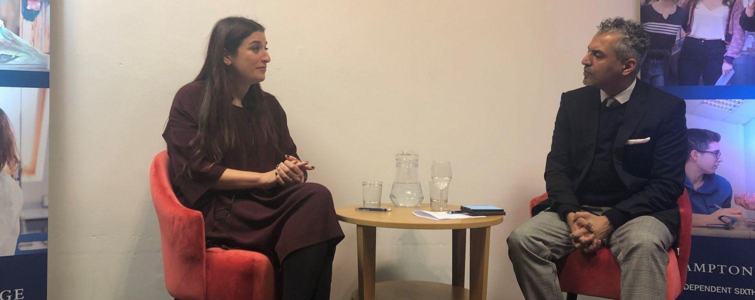 Luciana Berger & Maajid Nawaz