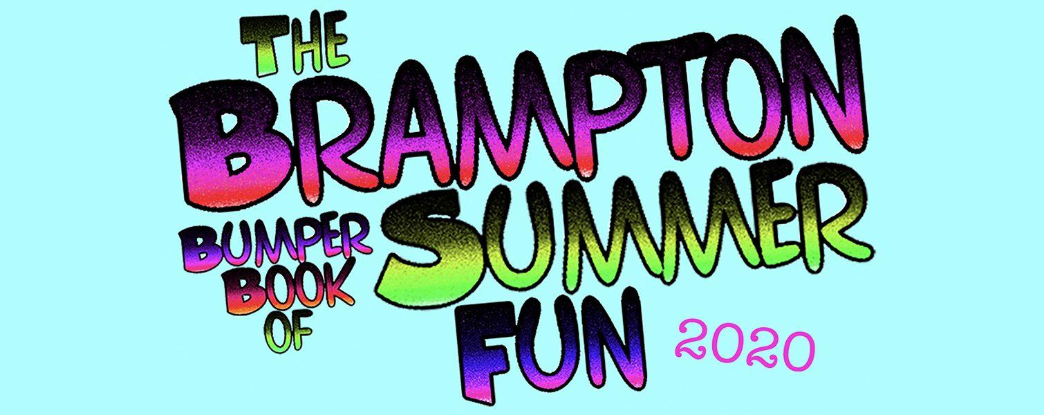 Brampton Bumper Book of Summer Fun 2020 Logo