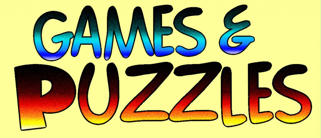 BBOSF Games and Puzzles