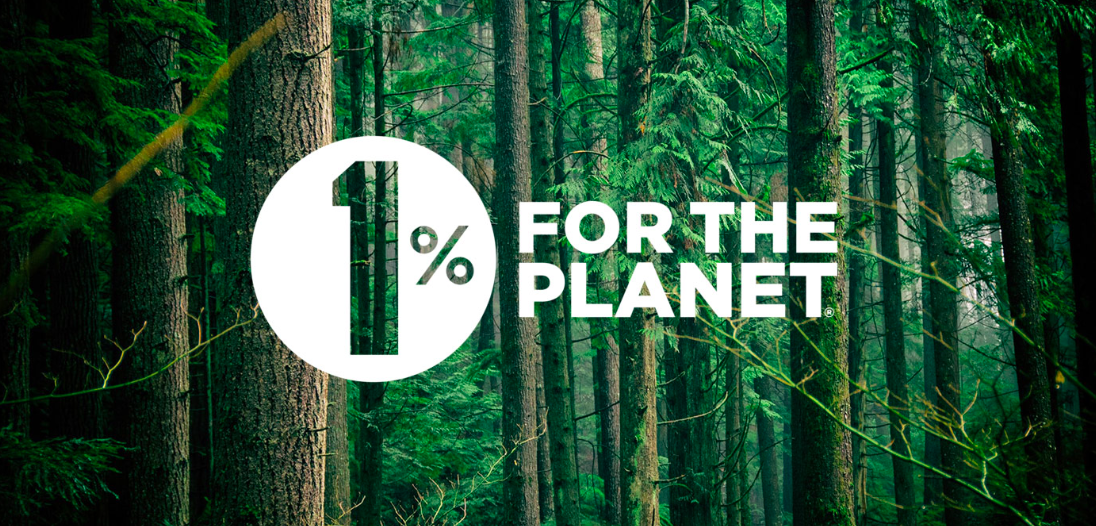 1% for the planet symbol