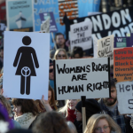 Women's rights protest